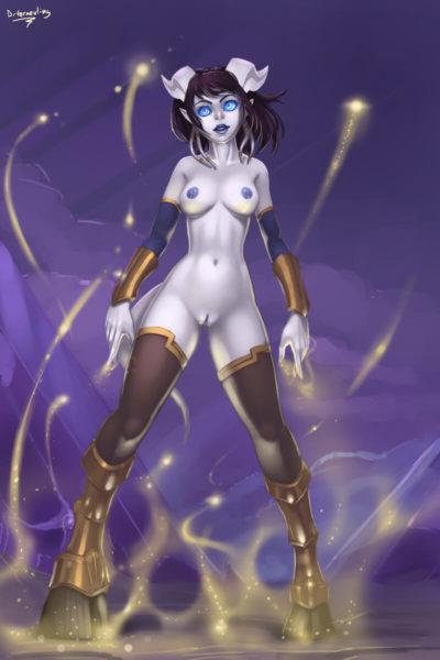 魔獸世界 World of Warcraft WoW ワールド オブ ウォークラフト monara 德萊尼的H同人圖 自慰 13P 同人誌 Doujin Hentai 成人漫畫 H漫 色情同人 線上看
