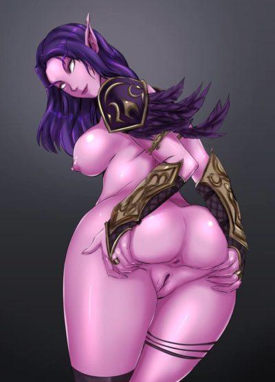 魔獸世界 World of Warcraft WoW ワールド オブ ウォークラフト 夜精靈 血精靈的H同人圖 自慰 9P 同人誌 Doujin Hentai 成人漫畫 H漫 色情同人 線上看