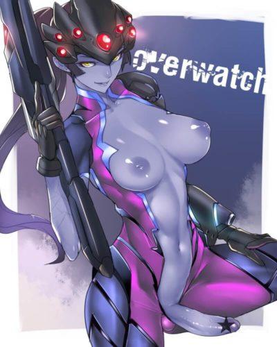 鬥陣特攻 守望先锋 Overwatch Widowmaker 寡婦製造者 奪命女的H同人圖 口交 中出 內射 肛交 8P 同人誌 Doujin Hentai 成人漫畫 H漫 色情同人 線上看