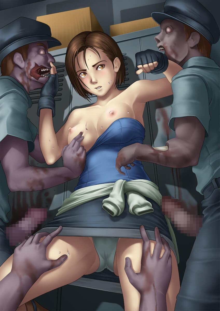 惡靈古堡 喪屍 殭屍 生化危機 バイオハザード Resident Evil BIOHAZARD Jill Valentine 吉兒華倫泰 吉兒范倫廷的H同人圖 口交 中出 內射 15P 漢同人誌 Doujin Hentai 成人漫畫 H漫 色情同人 線上看