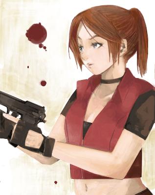 惡靈古堡 喪屍 殭屍 生化危機 バイオハザード Resident Evil BIOHAZARD Claire Redfield 克蕾兒雷德菲爾的H同人圖 口交 11P 漢同人誌 Doujin Hentai 成人漫畫 H漫 色情同人 線上看