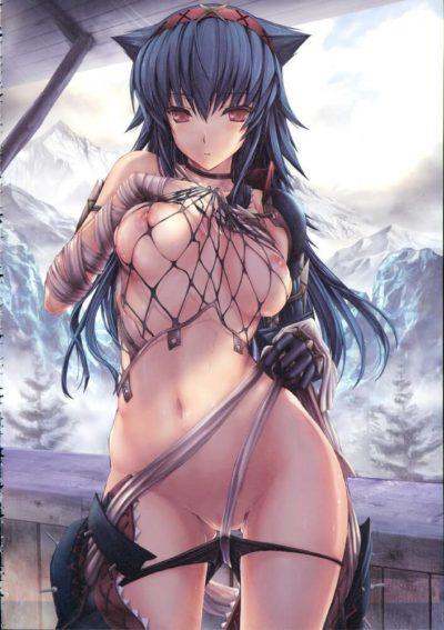 魔物獵人 モンスターハンター Monster Hunter naruga nargacuga 迅龍娘的H同人圖 自慰 中出 內射 10P 同人誌 Doujin Hentai 成人漫畫 H漫 色情同人 線上看