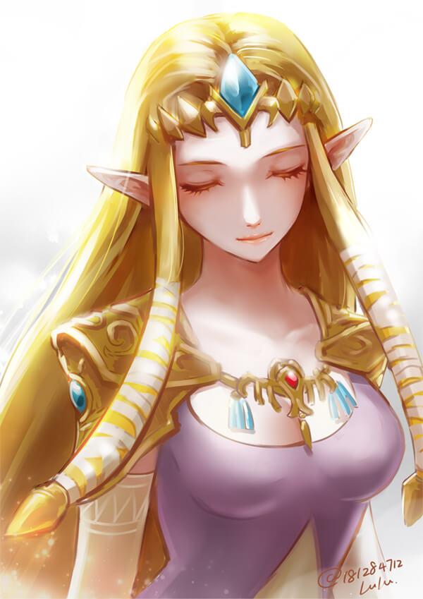 薩爾達傳說 ゼルダの伝説 The Legend of Zelda 薩爾達公主的H同人圖 中出 內射 林克 17P 同人誌 Doujin Hentai 成人漫畫 H漫 色情同人 線上看