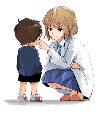 名偵探柯南 名探偵コナン Meitantei Konan 小哀 灰原哀的H同人圖 中出 內射 10P 同人誌 Doujin Hentai 成人漫畫 H漫 色情同人 線上看