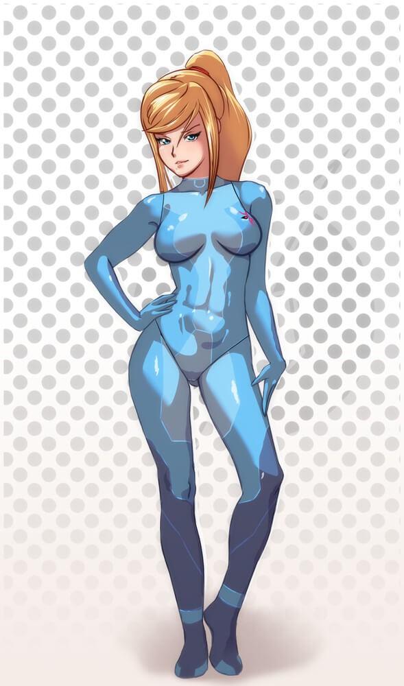 銀河戰士 メトロイド Metroid 阿蘭 薩姆斯艾倫的H同人圖 中出 內射 自慰 10P 同人誌 Doujin Hentai 成人漫畫 H漫 色情同人 線上看