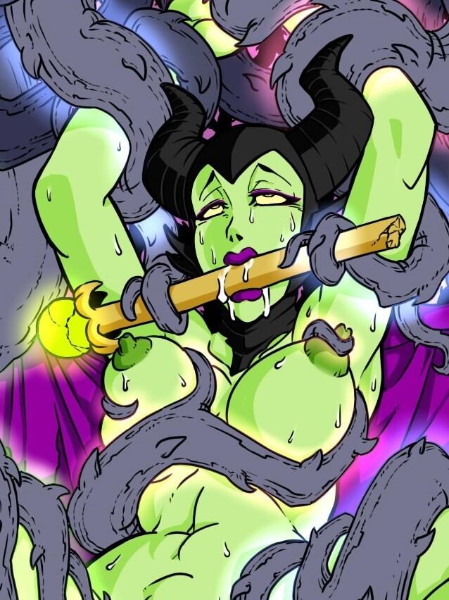 睡美人 黑魔女:沉睡魔咒 Maleficent – 成人色情動漫卡通漫畫集 部分3