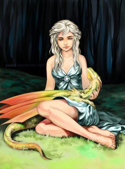 冰與火之歌 權力的遊戲 A Song of Ice and Fire game of thrones 氷と炎の歌 丹妮莉絲·坦格利安 daenerys targaryen 10P 同人誌 Doujin Hentai 成人漫畫 H漫 色情同人 線上看