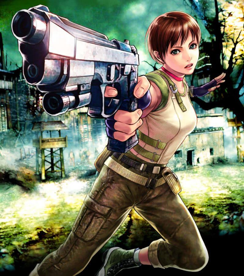 惡靈古堡 喪屍 殭屍 生化危機 バイオハザード Resident Evil BIOHAZARD Rebecca Chambers 蕾貝卡錢柏斯的H同人圖 自慰 口交 10P 漢同人誌 Doujin Hentai 成人漫畫 H漫 色情同人 線上看